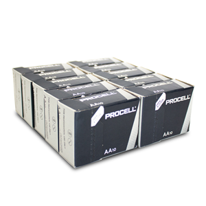 Duracell AA Industrial 100-Pack Batteries