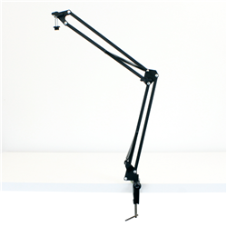Broadcaster Multipoise Desk Boom Arm Desk Clamp