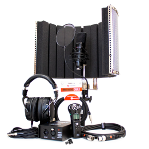 Voiceover and Podcasting Kit with Studiospares S1005