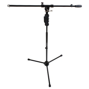 Studiospares Pro One Hand Mic Stand and Telescopic Boom