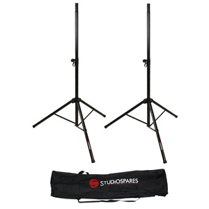 Studiospares Pro PA Speaker Stands and Bag