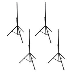 Studiospares Pro PA Speaker Stands 4-Pack