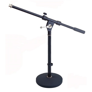 Studiospares Pro Short Round Base Mic Stand