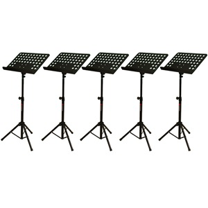Studiospares Pro Music Stands 5-Pack