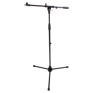 Microphone Stand and Telescopic Boom Unbranded