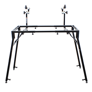 Trojan Pro Expandable & Folding Keyboard Two Tier Stand & DJ Bench Frame