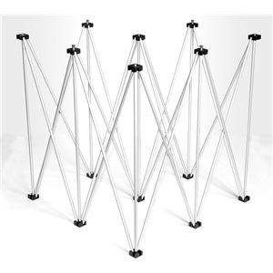 Intellistage Quarter Circle Riser 1m x 60cm