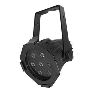 LEDJ Alu Par Compact Black (7 x 3W 8500K)
