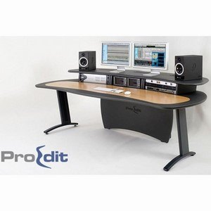 ProEdit Desk Grey & Oak