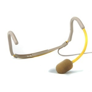 Trantec HM66 Yellow G/Neck Aerobic Headworn Mic