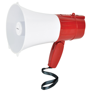 L15RC Rechargeable Megaphone with USB/microSD + Looper