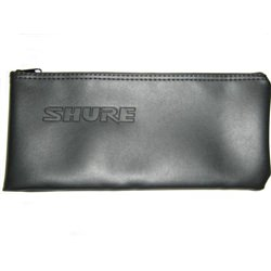 Shure Leatherette Mic Pouch Bag