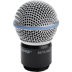 Shure Beta 58A Wireless Capsule RPW118