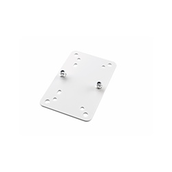 K&M 24354 Adaptor Plate White