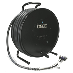 Klotz 2xCAT 2xAudio 50m Cable Drum RCMEED050