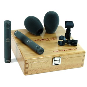 Schoeps CMC 65 Matched Cardioid/Omni Stereo Set