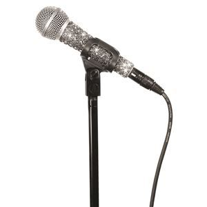 MicFX Wired Mic Silver Sleeve