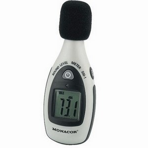 Monacor SM-1 Decibel SPL Sound Level Meter