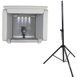 Isovox 2 Portable Vocal Booth Midnight with Pro Stand