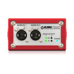 Klark Teknik dual port aes50 repeater DN9610