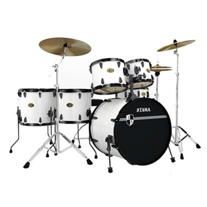 Imperialstar IP62H6NB Drum Kit Sugar White