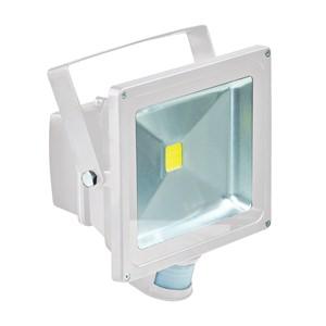 Eagle 50W White LED Flood Light with PIR sensor