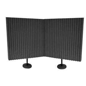 B-STOCK Auralex DeskMAX Panels Charcoal