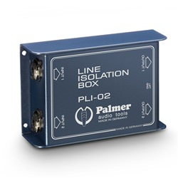 B-STOCK Palmer PLI02 Line Isolation Box 2-Channel