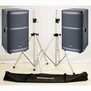 Auditorium 2 208C x2 + Stands + Bag