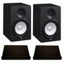 Yamaha HS7 Monitor (pair) + Isolation Pads