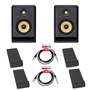 KRK Rokit RP5 Gen 4 Bundle Isolation Pads & Leads