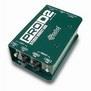 Radial Pro D2 Dual Passive DI Box