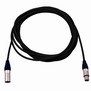 Pro Neutrik XLR Cable 5m Black