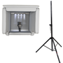 Isovox 2 Portable Vocal Booth Black with Pro Stand